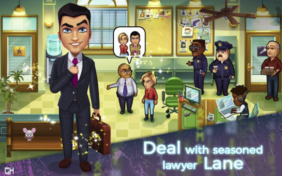 Parker & Lane Criminal Justice Mod Apk All Unlocked Terbaru