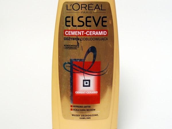 L'oreal Paris, Elseve, Cement-Ceramid, odbudowująca odżywka do włosów