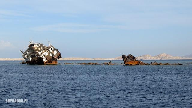 Wrak statku Louilla w Egipcie
