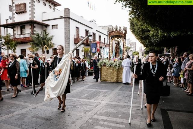 Los Llanos se vistió de gala para recibir a su patrona, la Virgen de Los Remedios