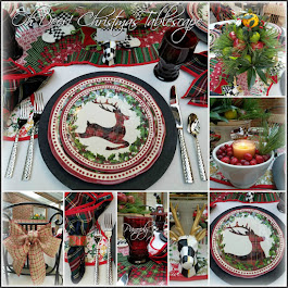 Oh Deer! Christmas Tablescape