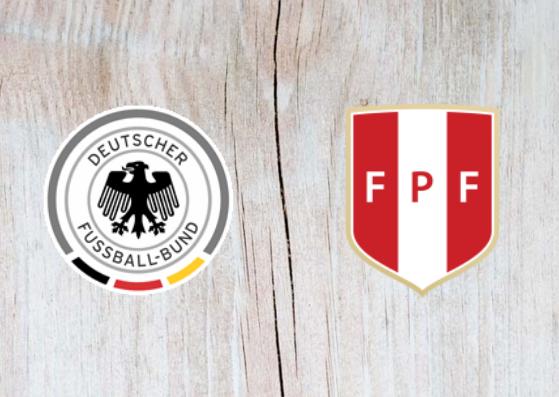 Germany vs Peru Full Match & Highlights 09 September 2018