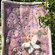 Mixed Media Art Quilt with Fabric Elements