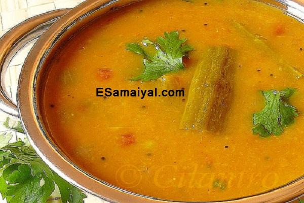 உடுப்பி சாம்பார் செய்முறை / Udupi Sambar Recipe !