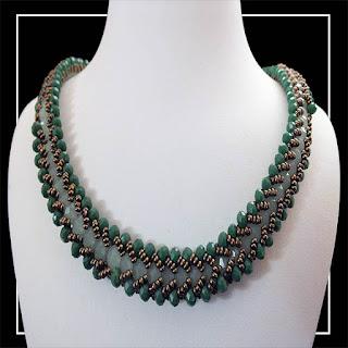 yeşil kristal boncuklu takım TA_0007_001-28 görseli