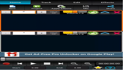 Edit Lagu Kesukaan dengan AudioDroid: Audio Mix Studio