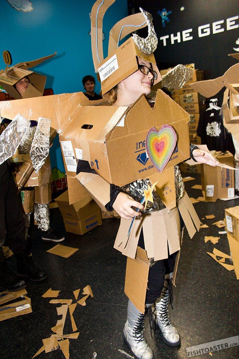 Propeller Anime Propeller Anime Presents Iron Cardboard Robot