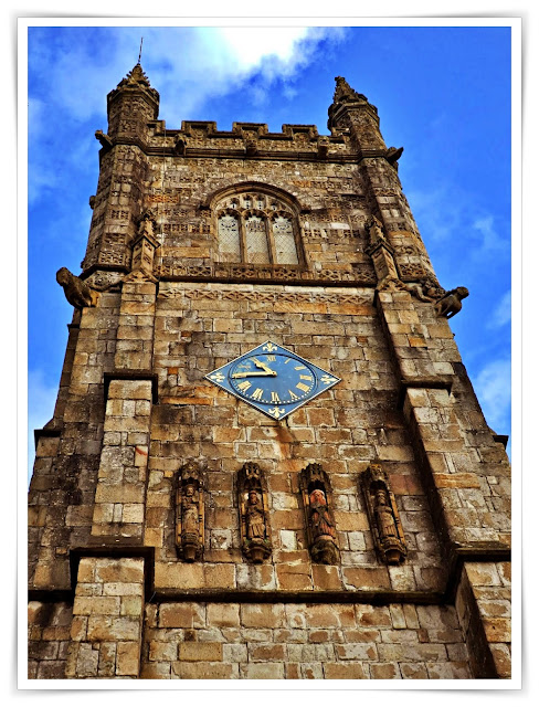 St.Austell church tower, Cornwall