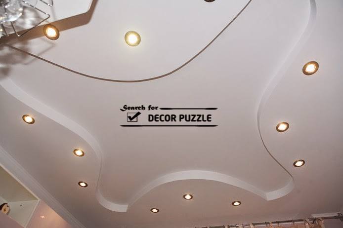 Cool Modern False Ceiling Designs For Living Room 2018