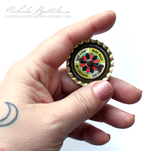 Bottle Cap Spinner - Nichola Battilana