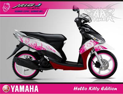 Aa Stiker Mio J Hello Kitty Edition