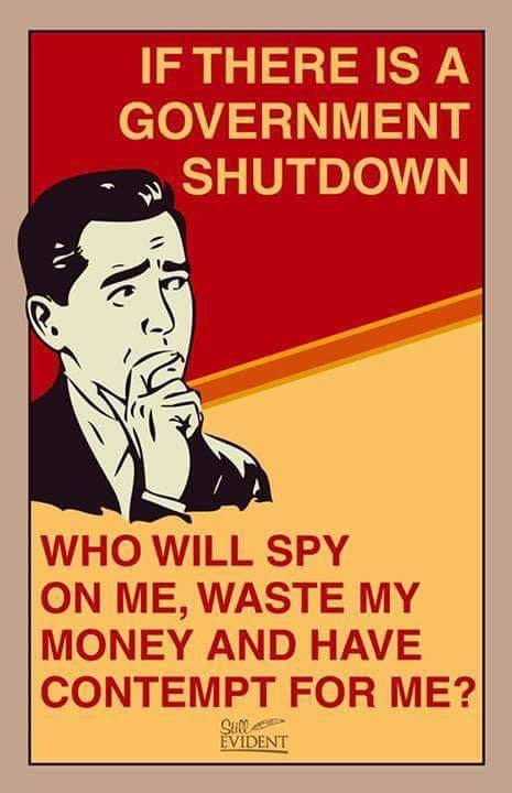 Image result for government shutdown the horror