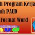 Contoh Program Kerja Sekolah PAUD Format Word