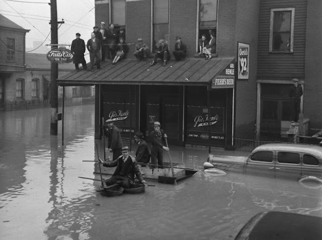 Ohio River Flood Of 1937 Vintage Everyday