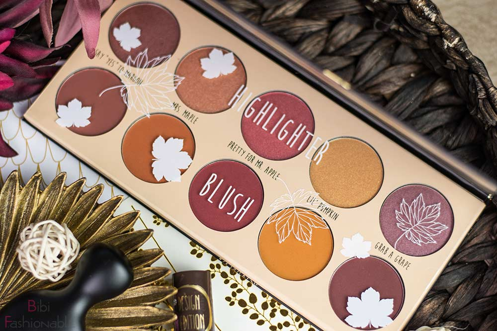 essence fall back to nature highlighter & blush palette mit Inlay