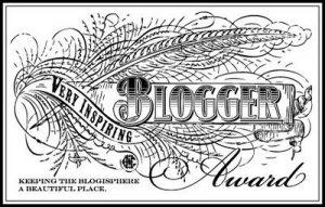 The Very Inspiring Blogger Award 1