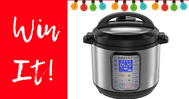 We are giving away a FREE Instant Pot