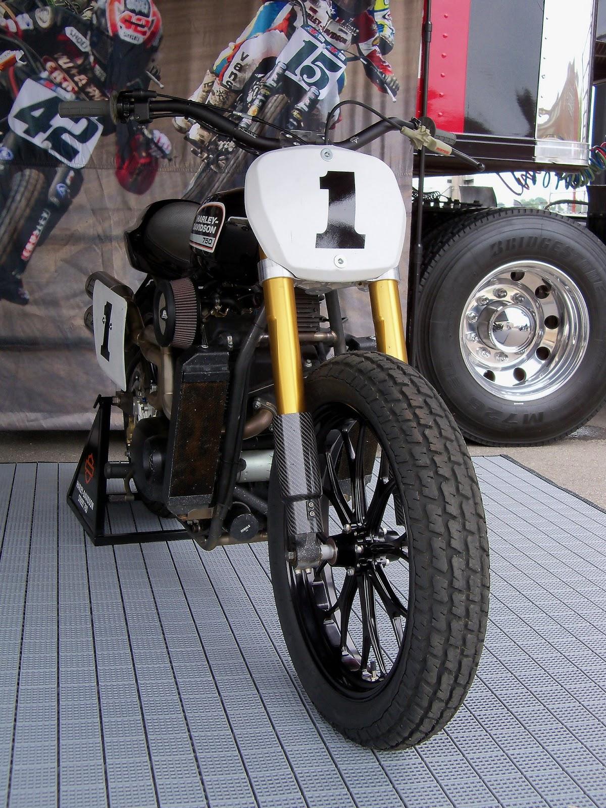 Racing Cafè: Harley-Davidson Street 750 Dirt Track @ Indy ... on