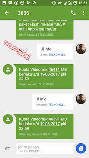 Cara Menggunakan Kuota VideoMax untuk Download,Browsing,DLL