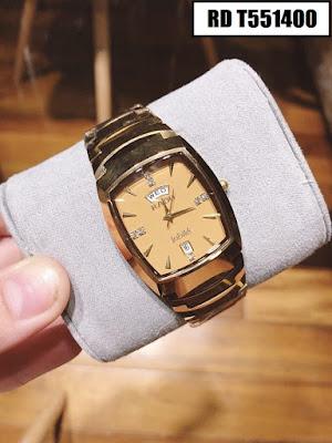 Đồng hồ Rado dây đá ceramic vàng RD T551400