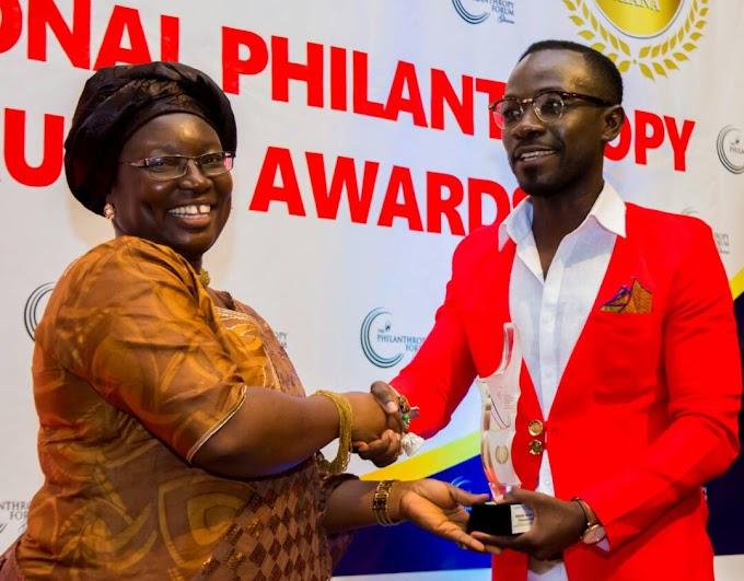 Kwame Sefa Kayi, Okyeame Kwame, others honoured at National Philanthropy Forum and Awards 2018
