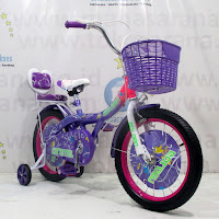 16 Sepeda Anak Golden Caramel CTB Purple