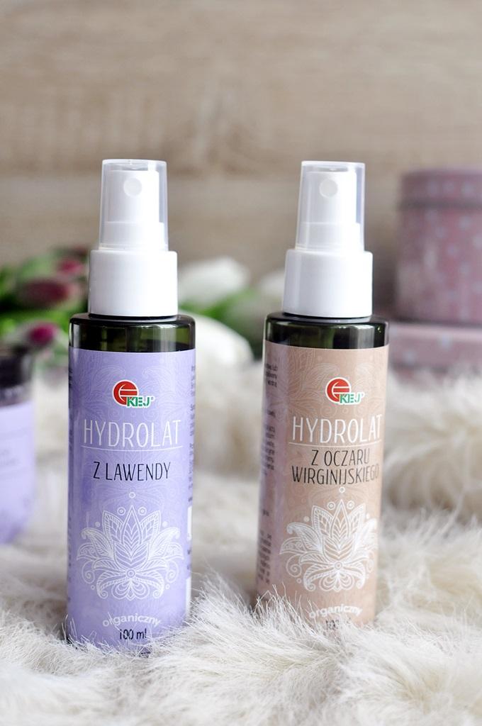 kej hydrolat z lawendy hydrolat z oczaru wirginijskiego