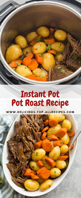 Instant Pot Pot Beef Roast Recipe