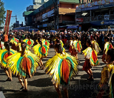 Colorful Nipa street dancers