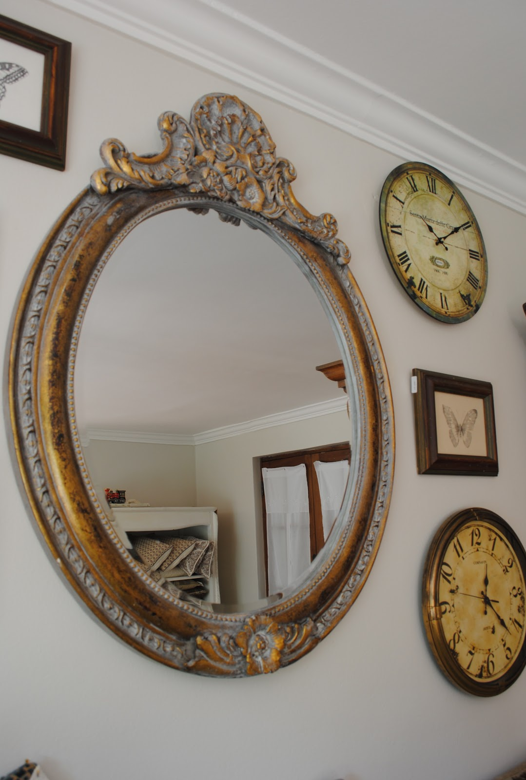 Paz montealegre decoraci n espejos provenzal espejos for Decoracion con espejos antiguos