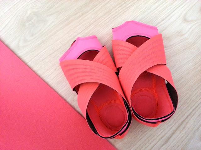 avis et test des chaussons de yoga nike wrap