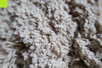 """Fransen: Norcho Weiche Mikrofaser Badematte Luxus Rutschfest Antibakteriell Gummi Teppich 27""""x18"""" Khaki"""