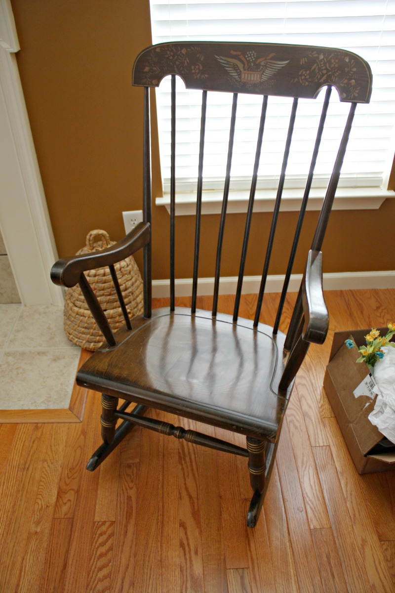 Outdated rocking chair