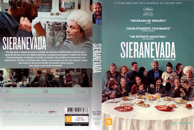 Capa DVD Sieranevada