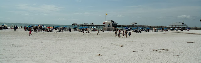 La playa en Clearwater Beach