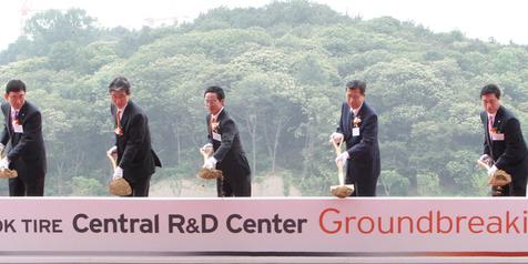 Hankook Tire Mengungkapkan Visi Strategis R&D pada Acara Peletakan Batu Pertama