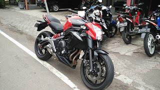BURSA MOGE BEKAS : Jual Kawasaki ER6N Tahun 2015 - LUMAJANG