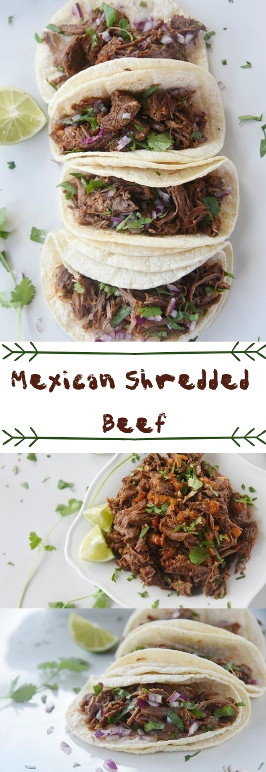 Mexican Shredded Beef {Instant Pot or Slow Cooker} #meatrecipe #slowcooker