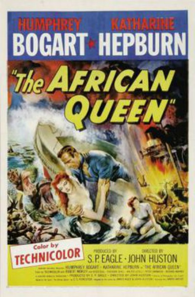 1951 The African Queen Film Poster
