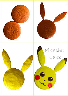 DIY Pikachu Cake #pokemon