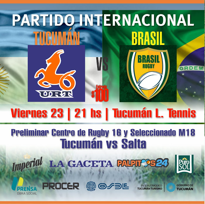 Los Naranjas enfrentan Brasil XV