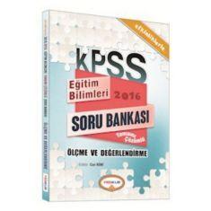 Yediiklim KPSS Ölçme ve Değerlendirme Tamamı Çözümlü Soru Bankası (2016)