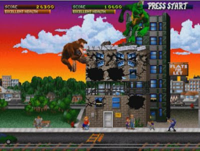Rampage World Tour+arcade+game+portable+videojuego+descargar gratis