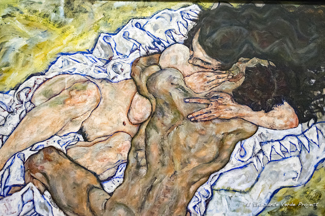 Egon Schiele: El abrazo II - Belvedere Museum, Viena por El Guisante Verde Project