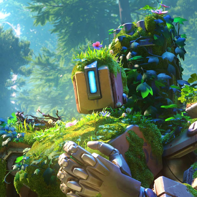 Overwatch bastion wallpaper engine download wallpaper engine wallpapers free - Bastion wallpaper ...