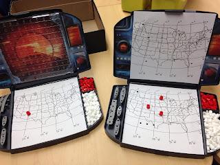 Classroom Freebies Too: Map Skills Battleship Game