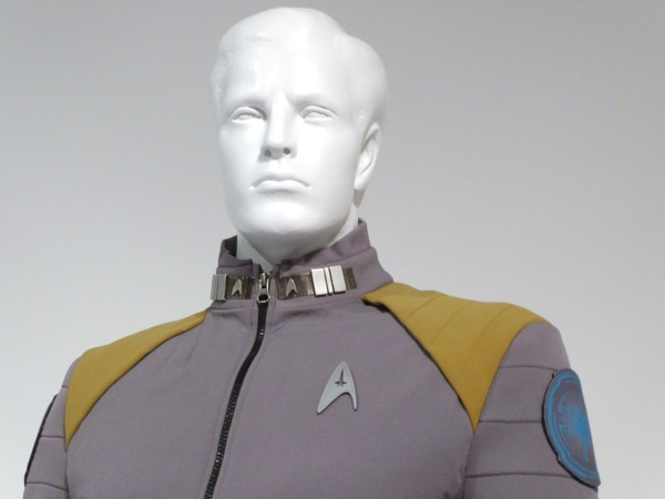 Star Trek Beyond Kirk Starfleet Command costume detail