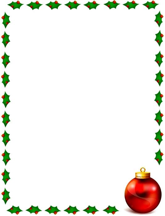 Bordes Decorativos: Bordes decorativos de Navidad para ...