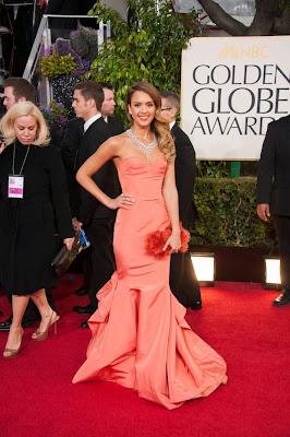 Jessica Alba Golden Globes 2014