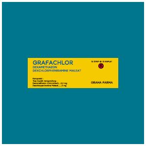 Grafachlor Kaplet : Dexamethazon, Dexchlorpheniramine Maleat